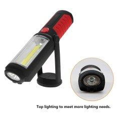 Hình ảnh Garage LED Work Light Flashlight with Hanging Hook Ultra Bright for Cycling Camping - intl