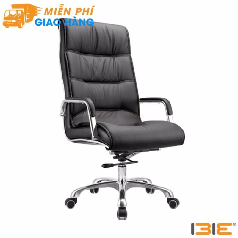Ghế da Giám đốc IB204 chân hợp kim nhôm cao cấp màu đen giá rẻ