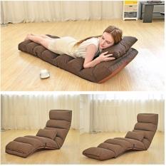 Ghế giường bệt thông minh kích thước 205x56x20cm (cà phê) - (BQ269-CAPHE)