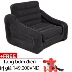Ghế giường hơi đa năng INTEX 68565 + Tặng 1 bơm điện hút xả 2 chiều
