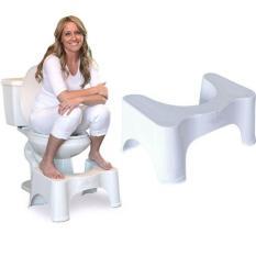 Hình ảnh Ghế kê chân toilet chống táo bón Chefman