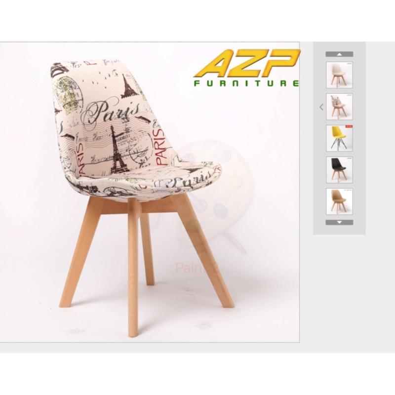 Ghế Làm Việc AZ PRICE DSW Bọc Nệm Paris - Hàng Nhập Khẩu giá rẻ