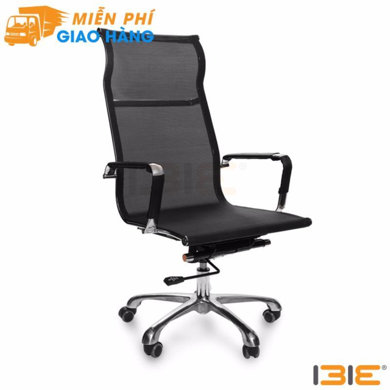 Ghế lưới IB811 chân hợp kim nhôm cao cấp màu đen giá rẻ