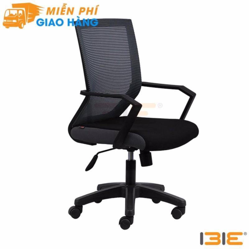 Ghế lưới văn phòng IB1012 cao cấp chân nhựa màu đen giá rẻ