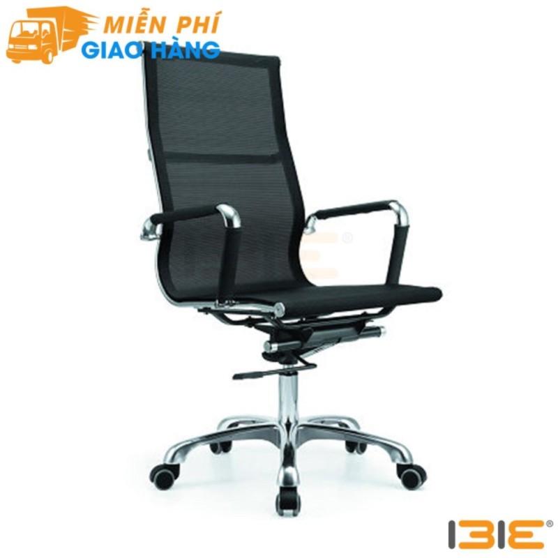Ghế lưới IB16A chân hợp kim nhôm cao cấp màu đen giá rẻ