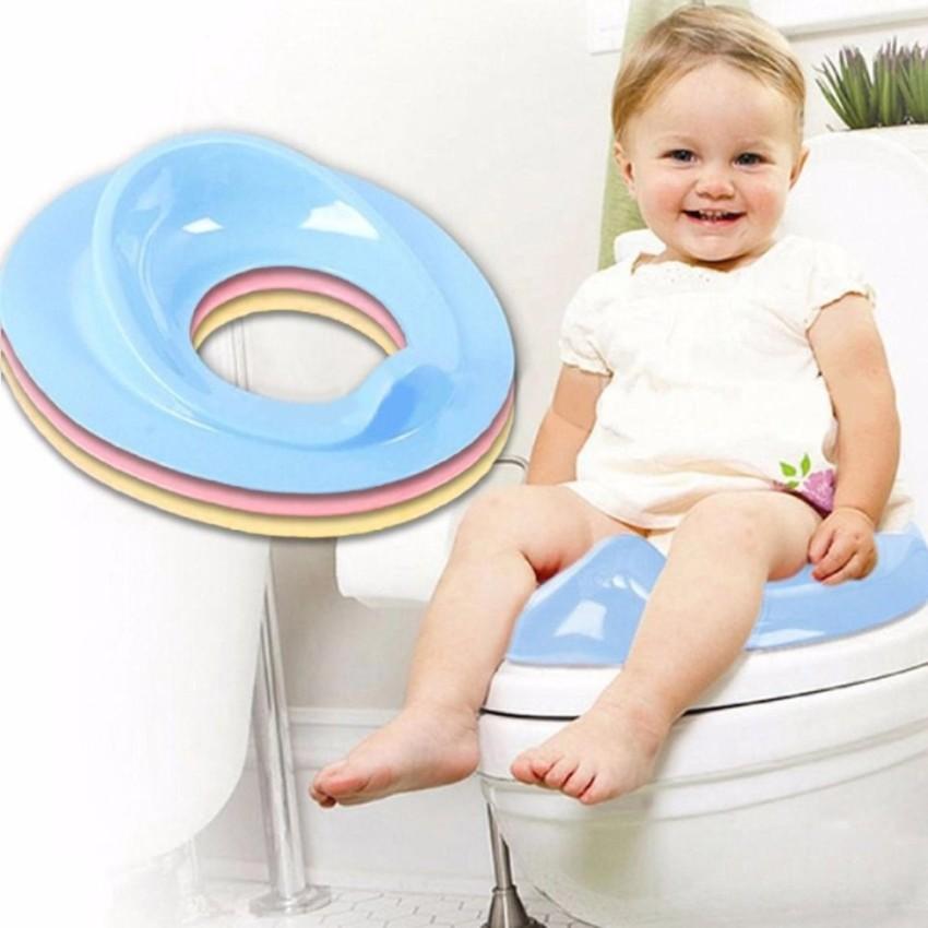 Hình ảnh Ghế ngồi toilet chống trượt, an toàn cho bé