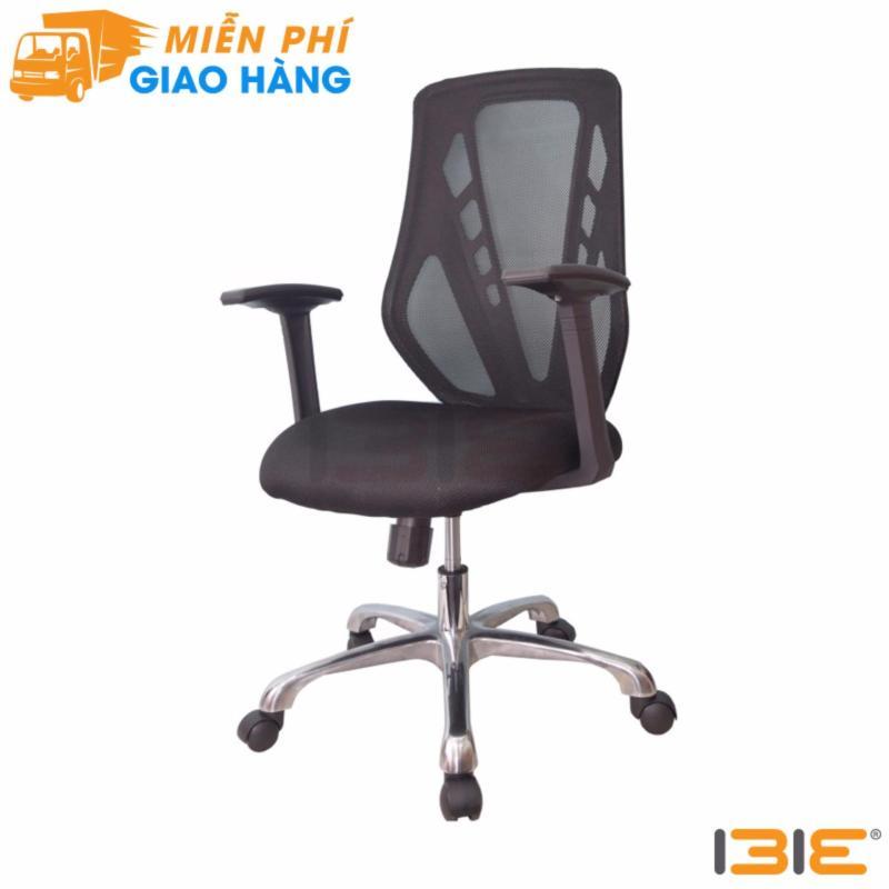Ghế trưởng phòng IB8309 2 cần chân hợp kim nhôm cao cấp màu đen giá rẻ