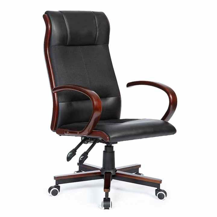 Ghế văn phòng 2 cần chân xoay ATWORK HC20202-U1 (Đen)