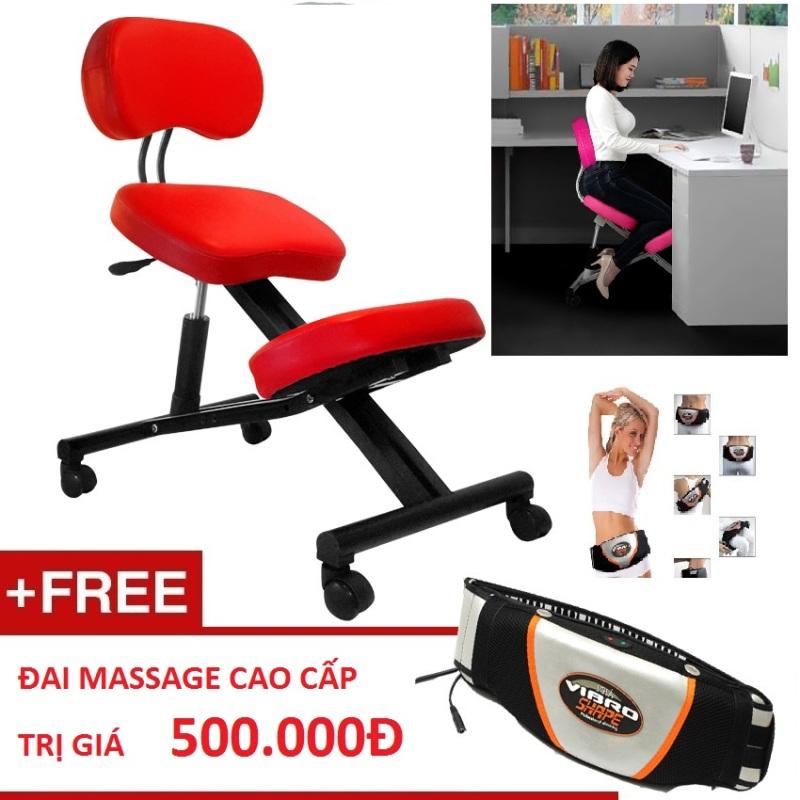 Ghế văn phòng bảo vệ cột sống OKyou FF2 + Tặng 1 đai massage giá rẻ