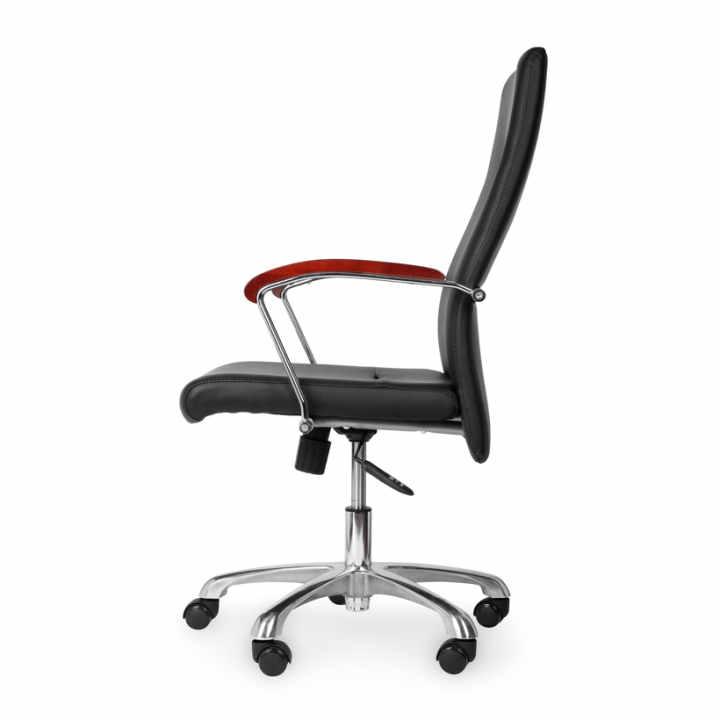 Ghế văn phòng chân xoay lưng cao ATWORK MC20103-U1 (Đen)