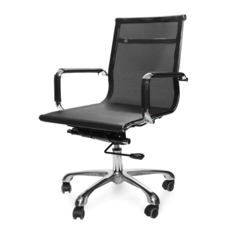 Ghế văn phòng lưới lưng trung MC-20130-M1 (Đen)- Hàng Nhập Khẩu AZ PRICE giá rẻ