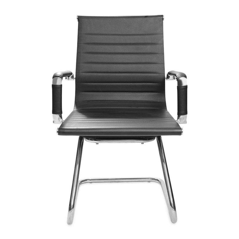 Ghế văn phòng PVC lưng trung chân quỳ VC20131-U1 (ĐEN)- Hàng Nhập Khẩu AZ PRICE giá rẻ