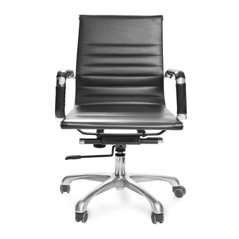 Ghế văn phòng PVC lưng trung chân xoay MC20131-U1- Hàng Nhập Khẩu AZ PRICE giá rẻ