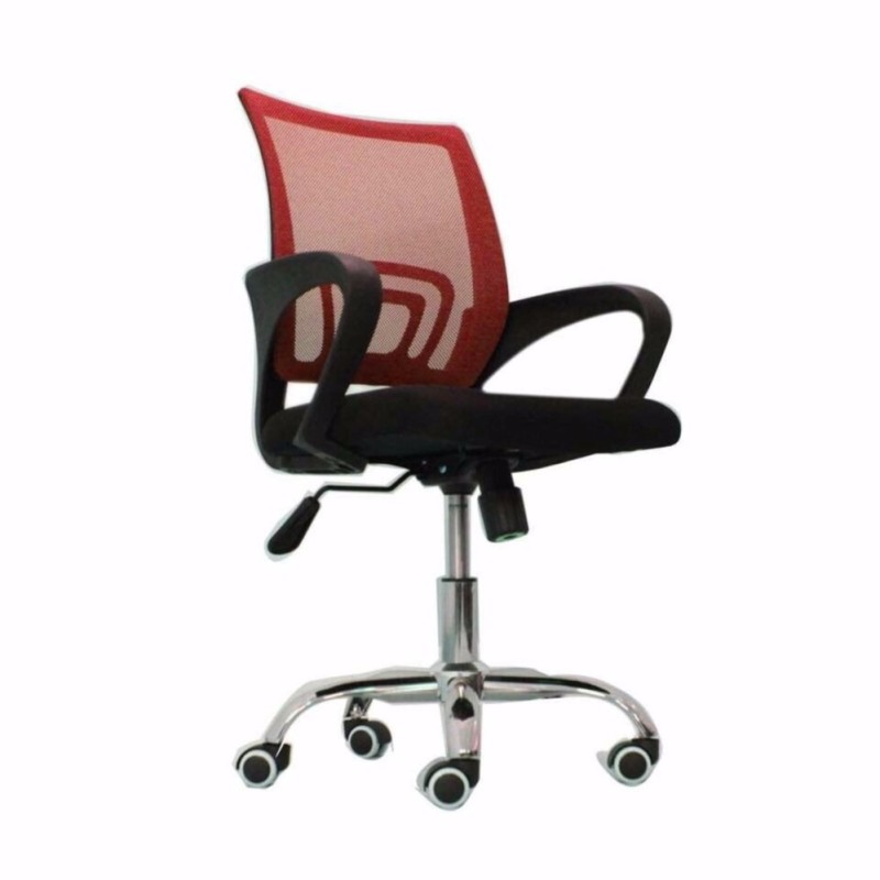 Ghế xoay nhân viên GXNV001-R (Đỏ) giá rẻ