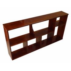 Giá sách treo tường gỗ rộng 100cm (Vàng cánh gián)