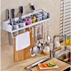 Hình ảnh Giá treo đồ nhà bếp tiện dụng (Trắng)