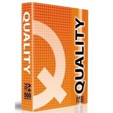 Mua Giấy A4 Quality định lượng 70gsm - 500 tờ (Double A sản xuất)