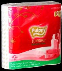 Giấy Vệ Sinh Pulppy Supreme 3 Lớp Giá Quá Tốt Phải Mua Ngay