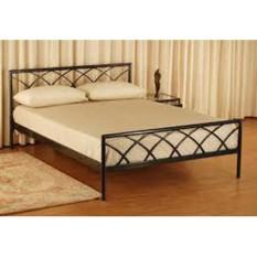 Giường sắt kiểu gỗ cao cấp 160×200 – DT02