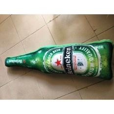 Bán Gối Om Hinh Chai Bia Heineken Nguyên