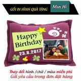 Giá Bán Gối Qua Tặng Sinh Nhật Happy Birthday Min Hi Nhãn Hiệu Oem