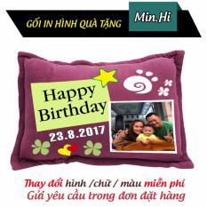 Bán Gối Qua Tặng Sinh Nhật Happy Birthday Min Hi Có Thương Hiệu Rẻ