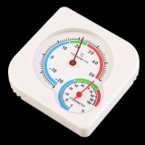 GOOD Nursery Baby House Room Mini Thermometer Wet Hygrometer Temperature Meter - intl