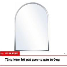 Cửa Hàng Gương Phong Tắm Cao Cấp 50 X 70 Viền Tron Kiếng Cường Lực 5Mm 105C Huy Tưởng Hồ Chí Minh