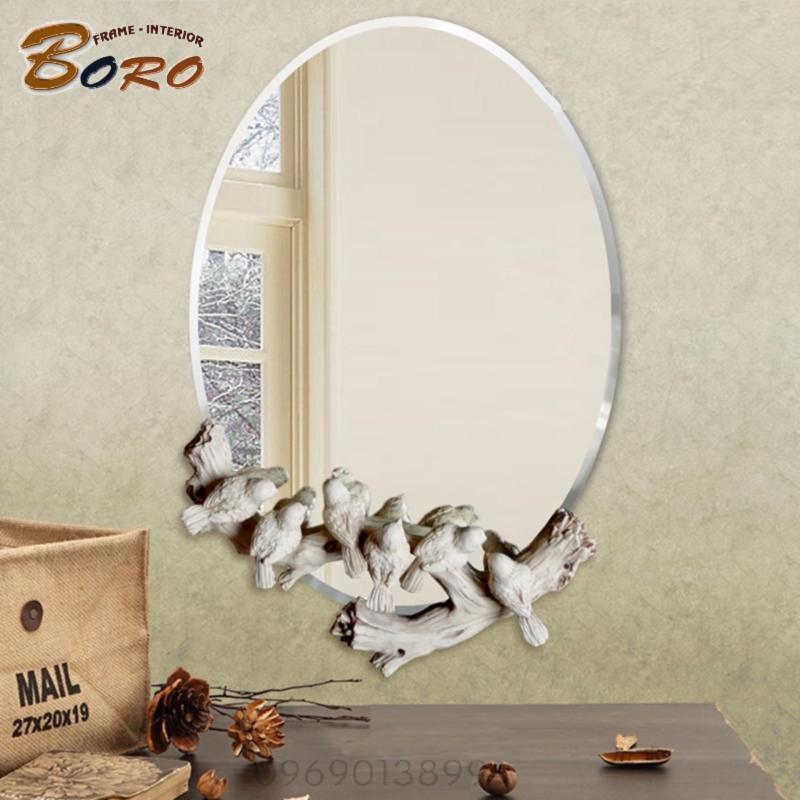 Gương phòng tắm, gương phòng khách nghệ thuật GTT107