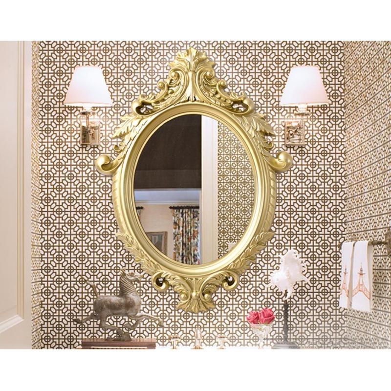 Gương soi giá rẻ BR021-3 (vàng)