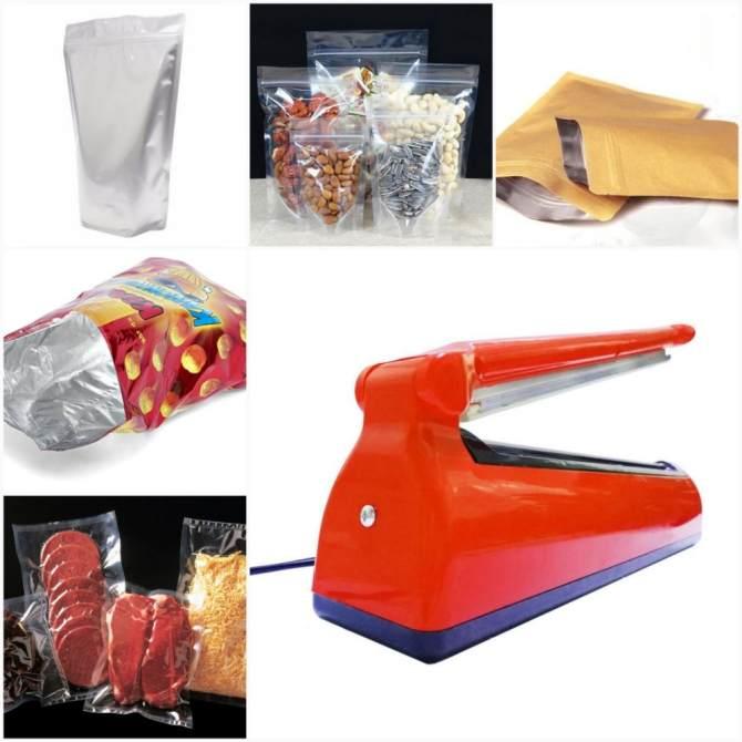 Hàn miệng túi - Máy hàn miệng túi hàng TỐT nhất thị trường, giao hàng toàn quốc với đường hàn 300x5mm, Bảo hành 3 tháng bởi VinhkhangShop