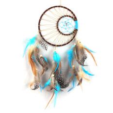Hình ảnh Vòng đuổi bắt giấc mơ Dream Catcher làm lông vũ Phụ kiện treo trang trí