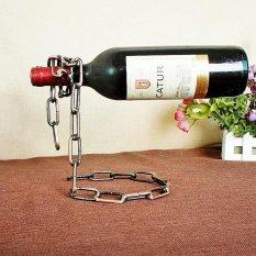 Hình ảnh Vòng tay Kệ Rượu Quá Trình Mạ Hỗ Trợ Nhà Bếp Thanh Phụ Kiện Thiết Thực Rượu Giá Đỡ 24X14X19.5 cm- quốc tế