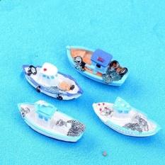 HappyLife 2 cái Đánh Cá Cây Cảnh Trang Trí Zakka Hình Miniaturemicro Phong Cảnh Đồ Trang Trí-quốc tế