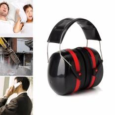 Bảo Vệ thính giác Bịt Tai Bao Da Loại Bỏ Tiếng Ồn bao Tai Đầu Điện Thoại-intl