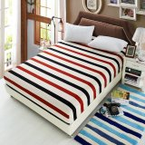 Giá Bán Honana 100 Polyester Fashionable Fitted Elastic Bedsheet Mattress Cover Bedding Linens Bed Sheets Intl Tốt Nhất