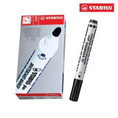 Mua Hộp 10 But Viết Bảng Đầu Tron Stabilo Plan Whiteboard Marker Wm641 10 Bk Đen Mới