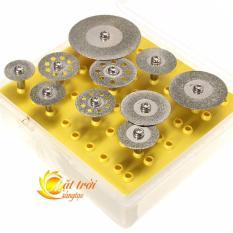 Hộp 10 lưỡi cắt kim cương MTST