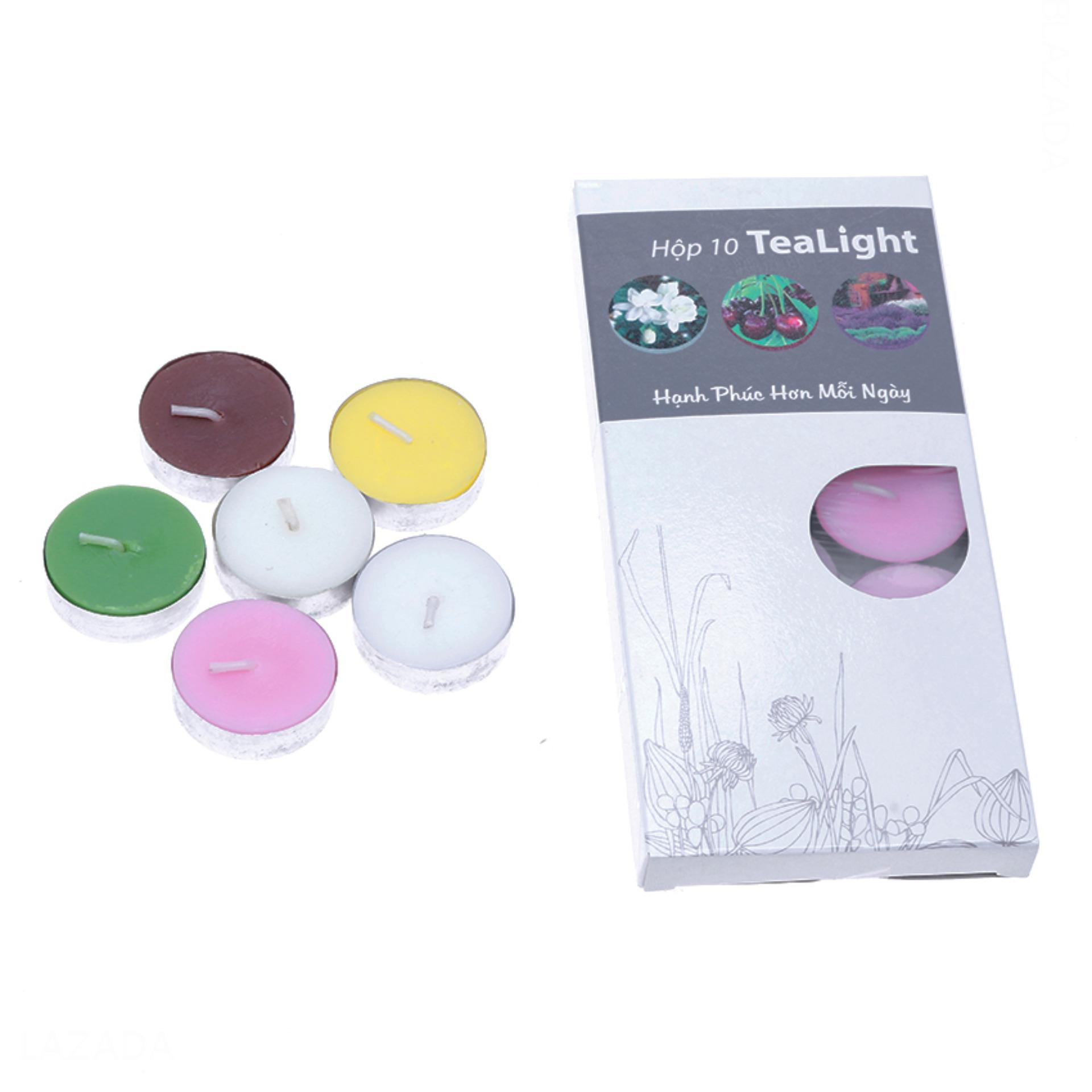 Hộp 10 Nến Thơm Mix 5 Mùi Hương Miss Candle Ftramart Ftm-Nqm0147