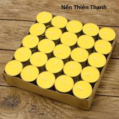 Ôn Tập Hộp 100 Vien Nến Tealight Thien Thanh Chay 6H Trắng Đỏ Vang Hồ Chí Minh