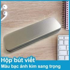 Hộp đựng Bút Viết Màu Bạc ánh Kim Sang Trọng By Banta.