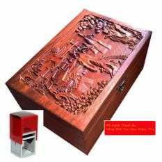 Ôn Tập Hộp Đựng Con Dấu Bằng Gỗ Hương Đỏ Mặt Trạm Tich Khổng Tử Đọc Kinh Thư Hd02 Thịnh An Trong Hồ Chí Minh
