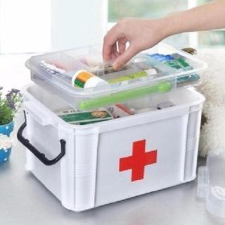 Hộp đựng thuốc y tế gia đình tiện ích (cỡ nhỏ) BH124 thumbnail