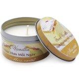 Hộp nến tin thơm hương vanilla Miss Candle FtraMart FTM-NQM2127 (Nâu nhạt)