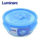 Hộp Thủy Tinh Luminarc Pure Box Tron 670Ml L1963 Trong Suốt Luminarc Chiết Khấu 40
