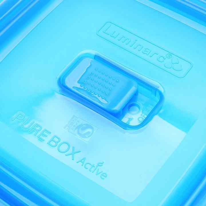Hộp thủy tinh Luminarc Pure Box tròn 670ml L1963 (Trong suốt)