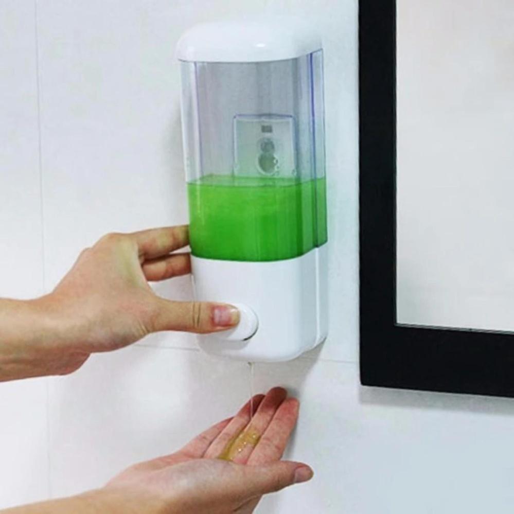 Hộp treo tường thiết kế thông minh nhỏ gọn đựng sữa tắm dầu gội đầu nước rửa tay