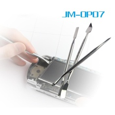 JAKEMY JM-OP07 3 trong 1 Kim Loại Spudger Bộ Prying Mở Đầu Dụng Cụ Sửa Chữa cho Điện Thoại Di Động-quốc tế