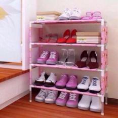 Kệ để giày dép có hoa văn tiện dụng