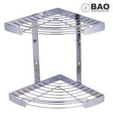 Mua Kệ Goc 2 Tầng Dung Trong Phong Tắm Bao Bn620 Inox 304 Bao